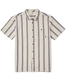 Men's Sundays Stretch Wave Stripe Jacquard Shirt