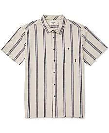 Billabong Men's Sundays Stretch Wave Stripe Jacquard Shirt