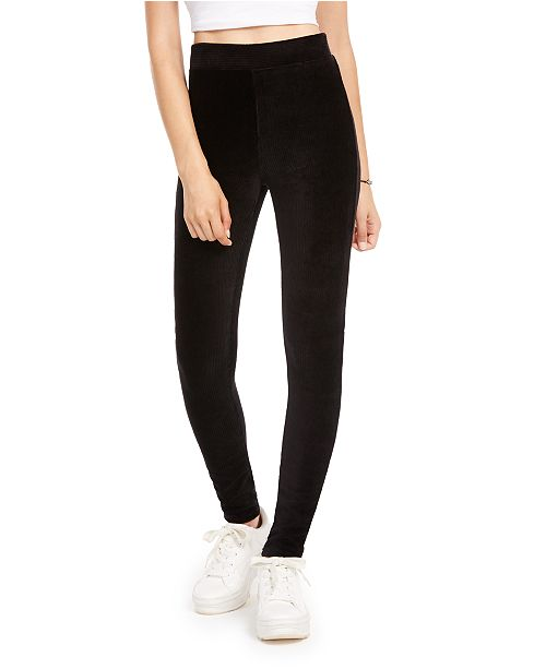 American Rag Juniors' Corduroy Leggings, Created for Macy's