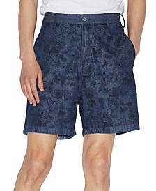 Men's Yarn Dyed Paisley Shorts