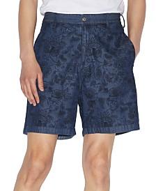 A X Armani Exchange Men's Yarn Dyed Paisley Shorts