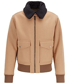 BOSS Men's Regular-Fit Blouson Jacket