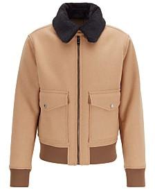 BOSS Men's Regular-Fit Blouson Jacket