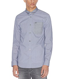 Men's Long-Sleeve Pocket Shirt