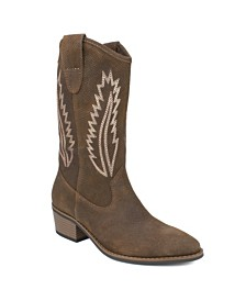 White Mountain Caraway Western Boots