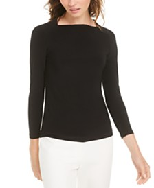 Anne Klein 3/4-Sleeve Top
