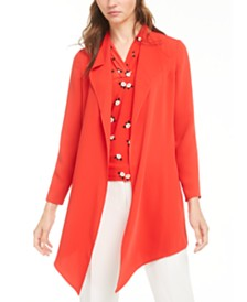 Anne Klein Draped Jacket