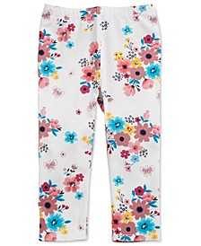 Baby Girls Aop Garden Floral Legging, Created for Macy's