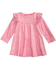 Baby Girls Butterfly-Print Dress, Created for Macy's