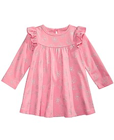 First Impressions Baby Girls Butterfly-Print Dress, Created for Macy's