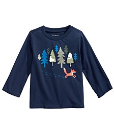 First Impressions Toddler Boys Forest & Fox T-Shirt, Created for Macy's