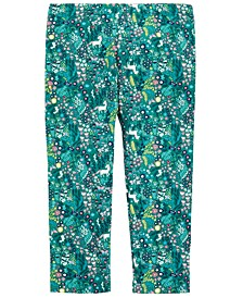 Baby Girls Printed Leggings, Created for Macy's