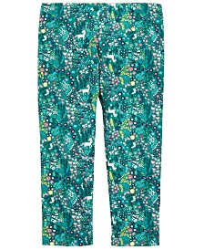 First Impressions Baby Girls Printed Leggings, Created for Macy's