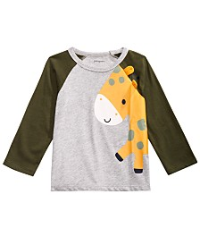 First Impressions Baby Boys Giraffe T-Shirt, Created for Macy's