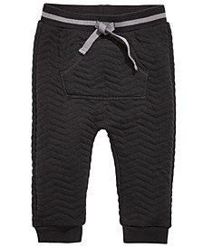 Baby Boys Quilted Pocket Jogger, Created for Macy's