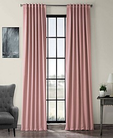 "Exclusive Fabrics Furnishings Blackout Curtain 84"" x 50"" Curtain Panel"