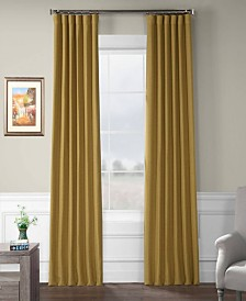 "Exclusive Fabrics Furnishings Bellino Blackout Curtain 108"" x 50"" Curtain Panel"