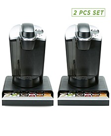 2 Pack K-Cup Single Serve Coffee Pod Storage
