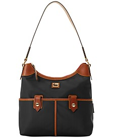 Dooney & Bourke Wayfarer Nylon Zip Hobo