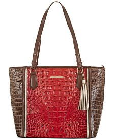 Brahmin Misha Chenoa Leather Satchel