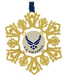 U.S. Airforce Snowflake Ornament