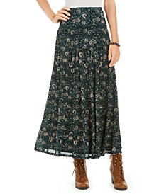 Petite Tiered Maxi Skirt, Created for Macy's