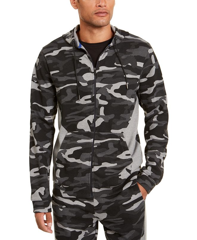 Ideology Men's Colorblocked Camo Jacket, Created for Macy's