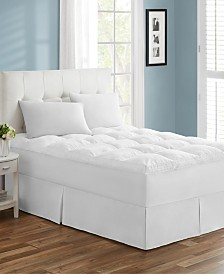 Tahari Home Premium Embossed Deep Pocket Mattress Topper Pad - Full