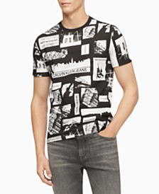 Calvin Klein Jeans Men's NYC Photo-Print Graphic T-Shirt