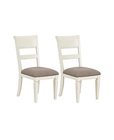 Chesapeake Bay 2-Pack Upholstered Dining Chairs, Quick Ship