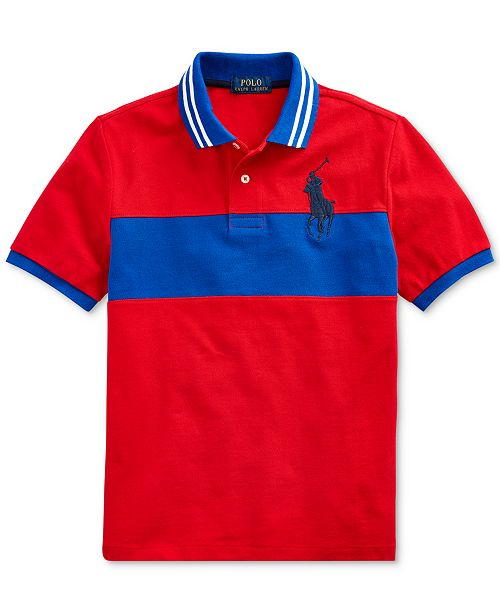 Polo Ralph Lauren Toddler Boys Basic Mesh Knit Polo Shirt