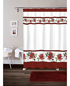 Poinsettia 17-Pc. Bath Set