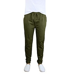 Men's Basic Stretch Twill Joggers