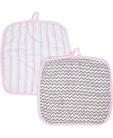 Miracle Baby Muslin Baby Washcloths - Pack of 2
