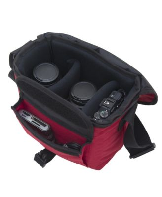 Red One Size Manhattan Portage Aperture Camera Bag Red