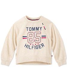 Tommy Hilfiger Big Girls 85 French Terry Sweatshirt