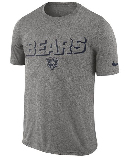 Nike Men's Chicago Bears Legend Lift Reveal T-Shirt