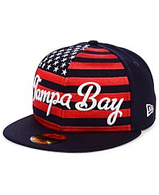 New Era Tampa Bay Rays Retro Big Flag 59FIFTY Cap