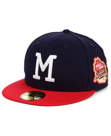 Milwaukee Braves World Series Patch 59FIFTY Fitted Cap