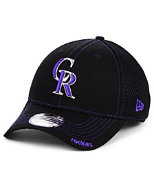 Colorado Rockies Core Neo 39THIRTY Stretch Fitted Cap