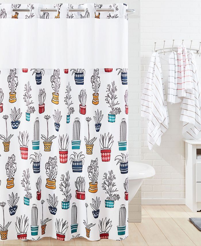 Hookless - Shower Curtain Cactus