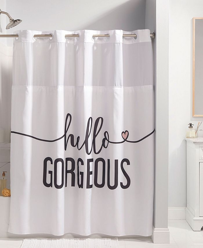 Hookless - Hello Gorgeous Shower Curtain