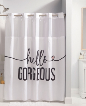 Hookless Hello Gorgeous Shower Curtain Bedding