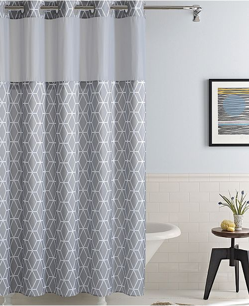Hookless Prism Shower Curtain
