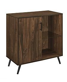 Walker Edison 1-Door Wood Accent Cabinet TV Stand