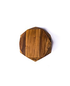 Teak Star Small Cutting Board