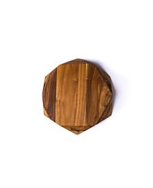 Edge of Belgravia Teak Star Small Cutting Board