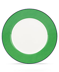 kate spade new york Dinnerware, Hopscotch Drive Green Dinner Plate