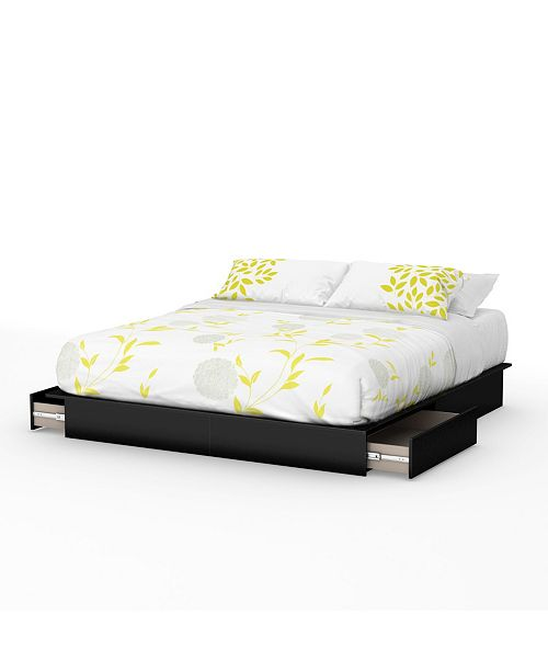 South Shore Step One Bed, King