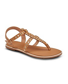 Passion Fruit Studded Sandals